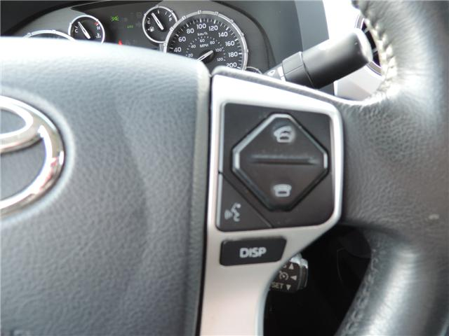2017 Toyota Tundra Limited 5.7L V8 (Stk: 191551) in Brandon - Image 15 of 22