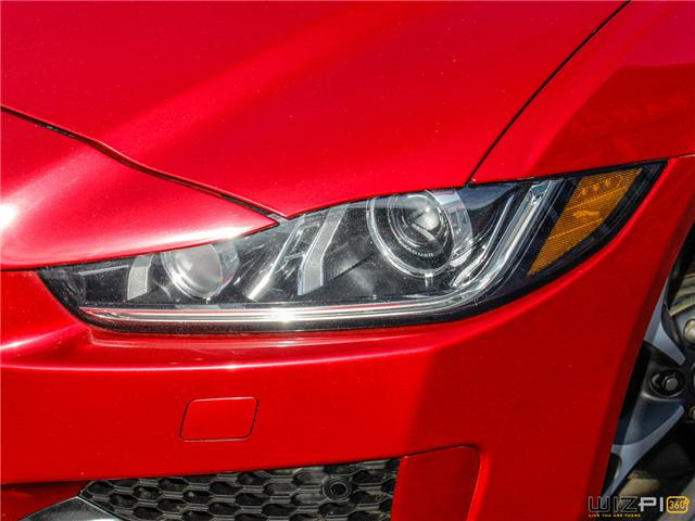 2017 Jaguar XE 3.0L V6 SC R-Sport (Stk: 52077) in Toronto - Image 9 of 30
