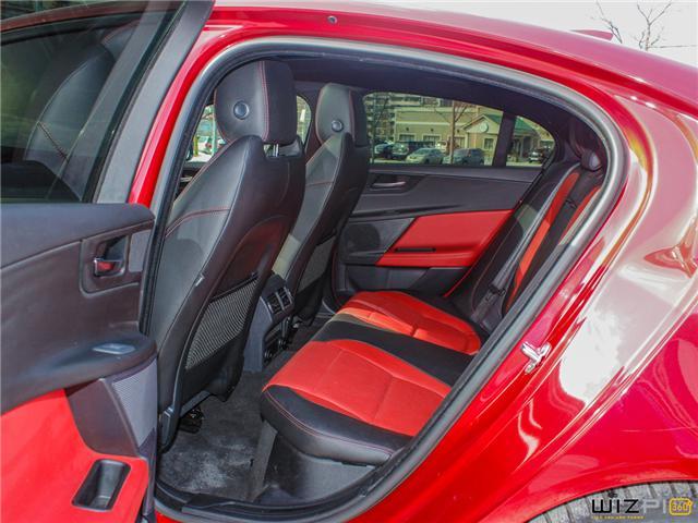 2017 Jaguar XE 3.0L V6 SC R-Sport (Stk: 52077) in Toronto - Image 16 of 30