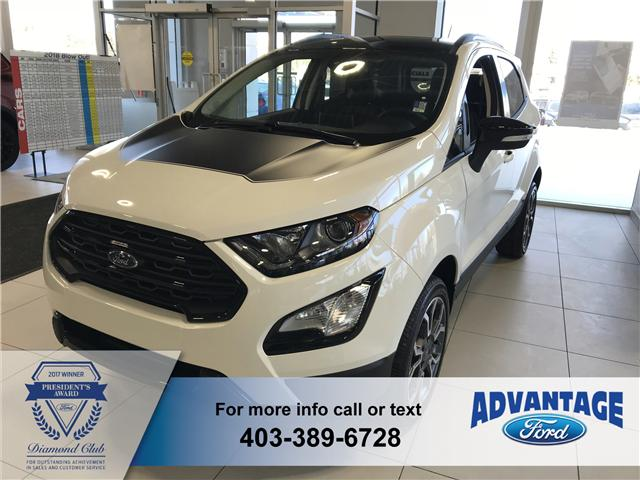 2019 Ford EcoSport SES (Stk: K-181) in Calgary - Image 1 of 6