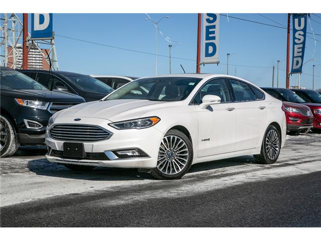 2018 Ford Fusion Hybrid Titanium LEATHER=PWER ROOF-NAV-LOADED (Stk: 947380) in Ottawa - Image 1 of 30