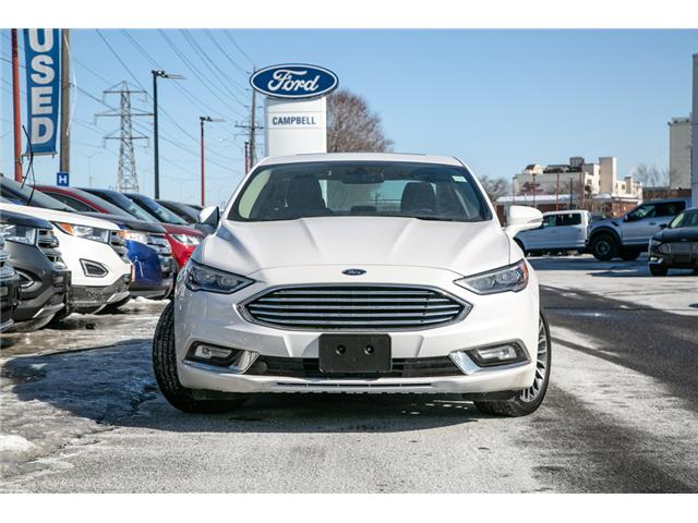 2018 Ford Fusion Hybrid Titanium LEATHER=PWER ROOF-NAV-LOADED (Stk: 947380) in Ottawa - Image 2 of 30