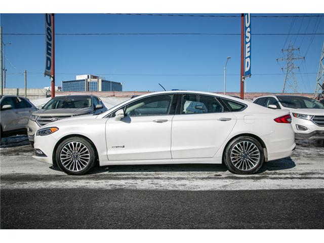 2018 Ford Fusion Hybrid Titanium LEATHER=PWER ROOF-NAV-LOADED (Stk: 947380) in Ottawa - Image 3 of 30