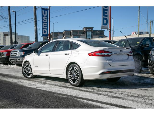 2018 Ford Fusion Hybrid Titanium LEATHER=PWER ROOF-NAV-LOADED (Stk: 947380) in Ottawa - Image 4 of 30
