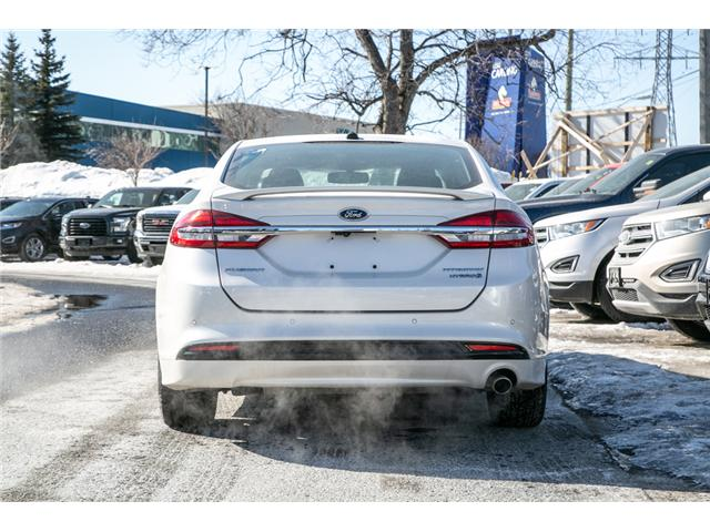 2018 Ford Fusion Hybrid Titanium LEATHER=PWER ROOF-NAV-LOADED (Stk: 947380) in Ottawa - Image 5 of 30