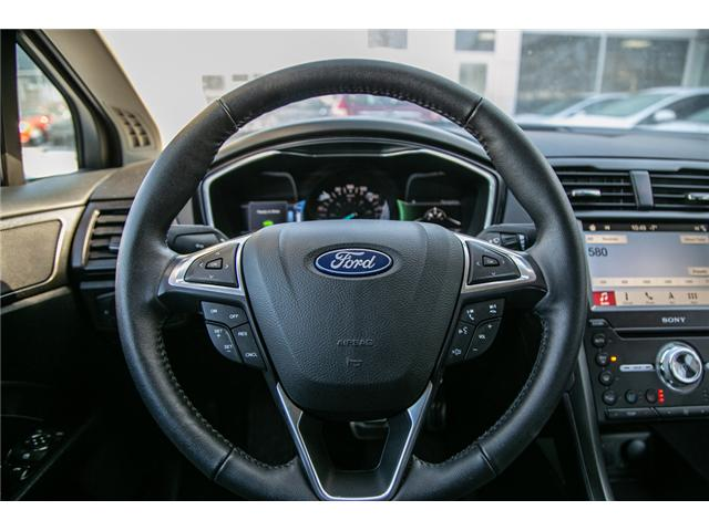 2018 Ford Fusion Hybrid Titanium LEATHER=PWER ROOF-NAV-LOADED (Stk: 947380) in Ottawa - Image 14 of 30