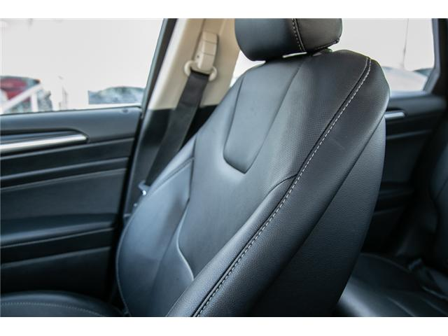 2018 Ford Fusion Hybrid Titanium LEATHER=PWER ROOF-NAV-LOADED (Stk: 947380) in Ottawa - Image 24 of 30