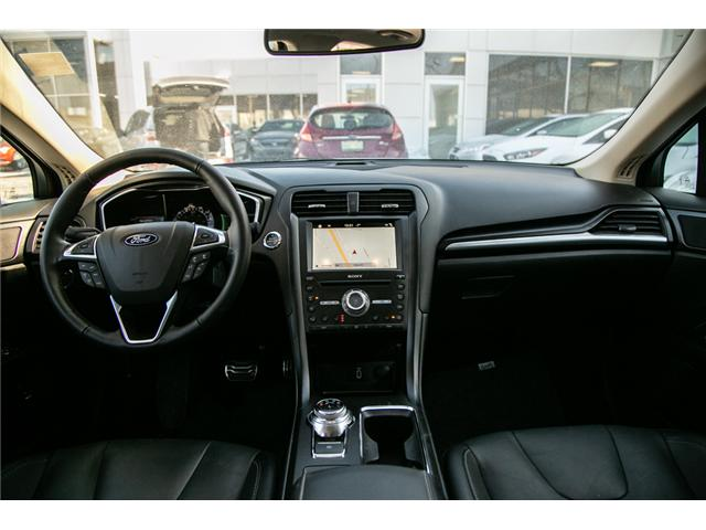 2018 Ford Fusion Hybrid Titanium LEATHER=PWER ROOF-NAV-LOADED (Stk: 947380) in Ottawa - Image 26 of 30
