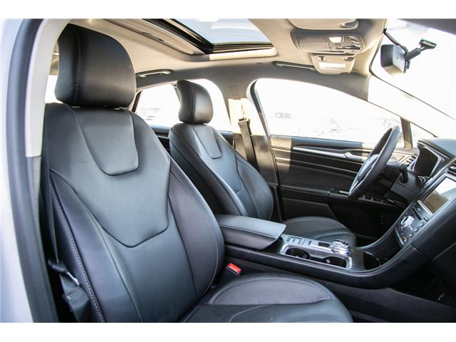 2018 Ford Fusion Hybrid Titanium LEATHER=PWER ROOF-NAV-LOADED (Stk: 947380) in Ottawa - Image 28 of 30