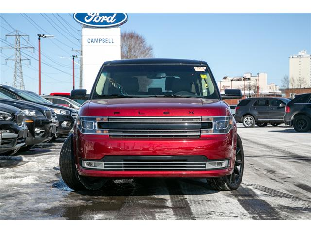 2018 Ford Flex LTD AWD-LEATHER-ECO BOOST-POWER ROOF (Stk: 946810) in Ottawa - Image 2 of 28