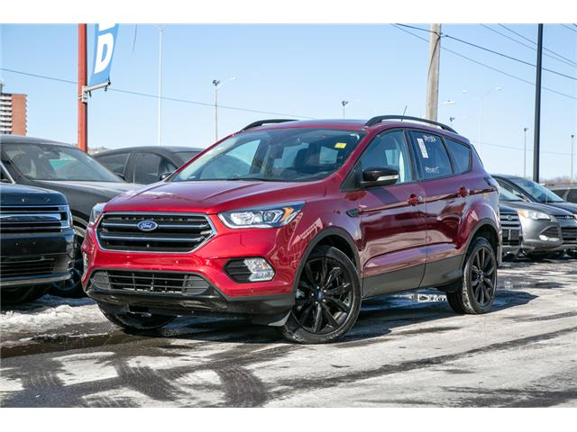 2018 Ford Escape TITANIUM AWD-LEATHER-NAV-POWER ROOF (Stk: 946770) in Ottawa - Image 1 of 30