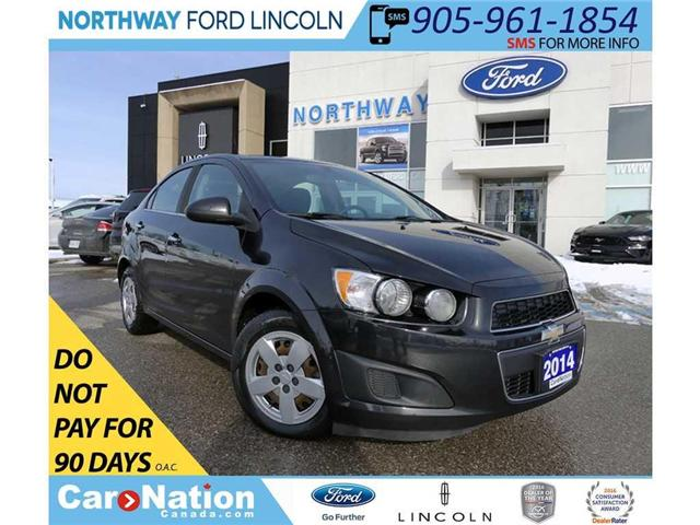 2014 Chevrolet Sonic LT | KEYLESS ENTRY | CRUISE | BLUETOOTH | (Stk: F180872C) in Brantford - Image 1 of 31
