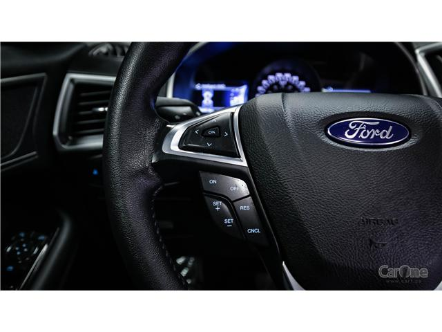 2017 Ford Edge SEL (Stk: CJ19-77) in Kingston - Image 15 of 34