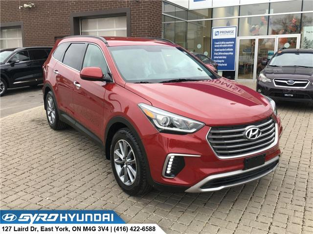 2017 Hyundai Santa Fe XL Base (Stk: H4395) in Toronto - Image 1 of 29