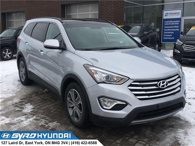 2015 Hyundai Santa Fe XL Luxury (Stk: H4021A) in Toronto - Image 1 of 30