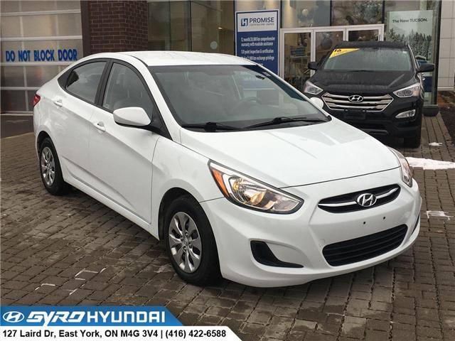 2016 Hyundai Accent LE (Stk: H4500) in Toronto - Image 1 of 27
