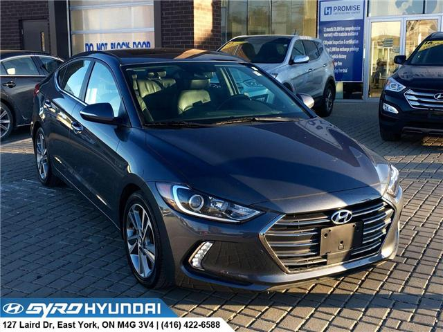 2017 Hyundai Elantra Limited Ultimate (Stk: H4112A) in Toronto - Image 1 of 30