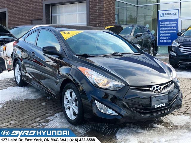 2013 Hyundai Elantra GLS (Stk: H4606A) in Toronto - Image 1 of 28