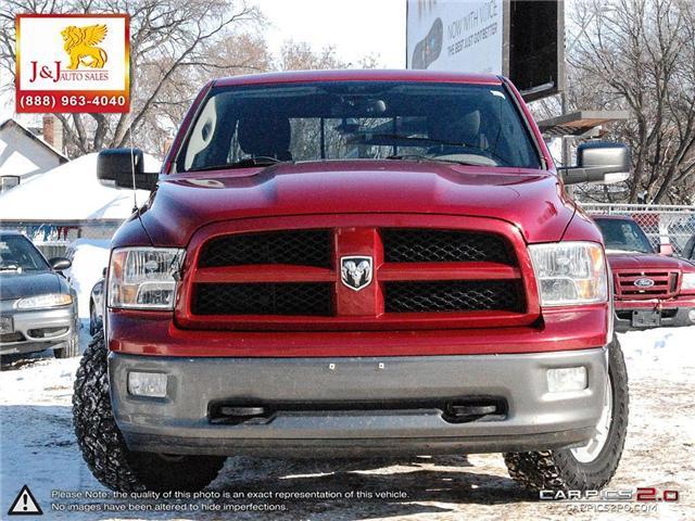 2010 Dodge Ram 1500 SLT/Sport/TRX (Stk: J19008) in Brandon - Image 2 of 27