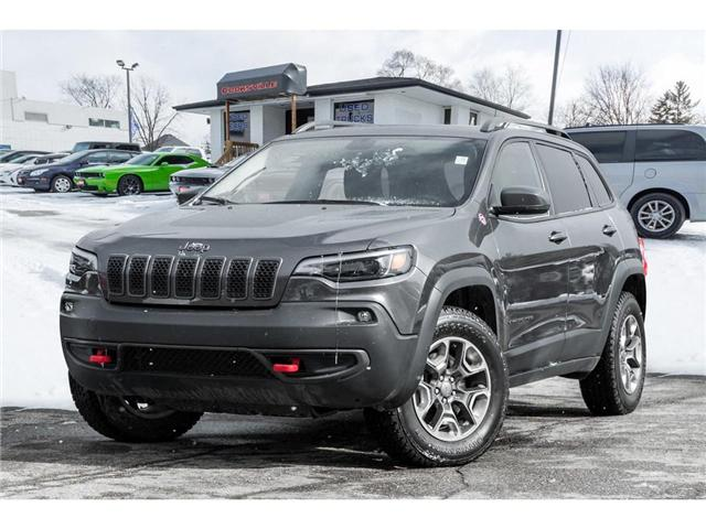 2019 Jeep Cherokee Trailhawk (Stk: 7818PR) in Mississauga - Image 1 of 21