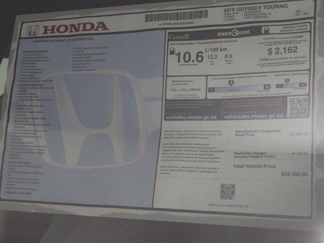 2019 Honda Odyssey Touring (Stk: 219023) in Huntsville - Image 30 of 30