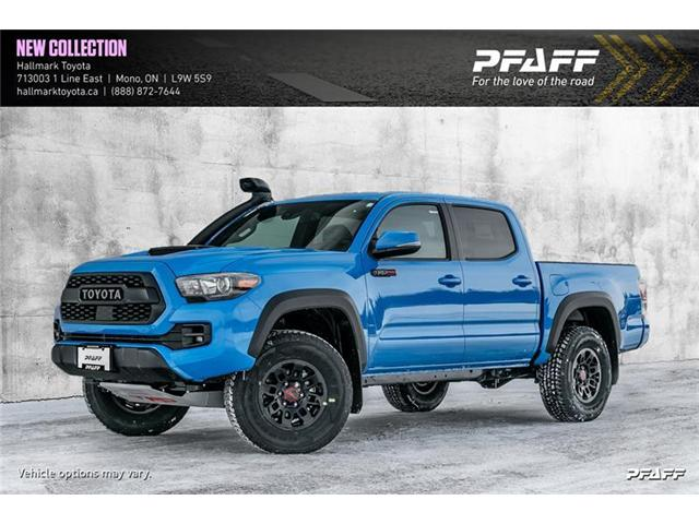 2019 Toyota Tacoma 4x4 Double Cab V6 TRD Off-Road 6A (Stk: H19294) in Orangeville - Image 1 of 19