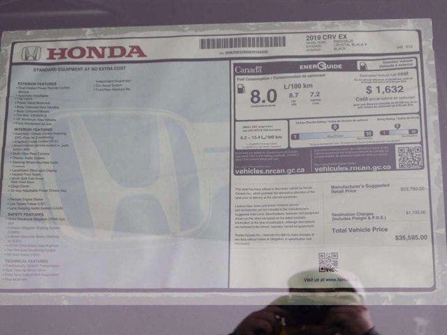 2019 Honda CR-V EX (Stk: 219148) in Huntsville - Image 10 of 33