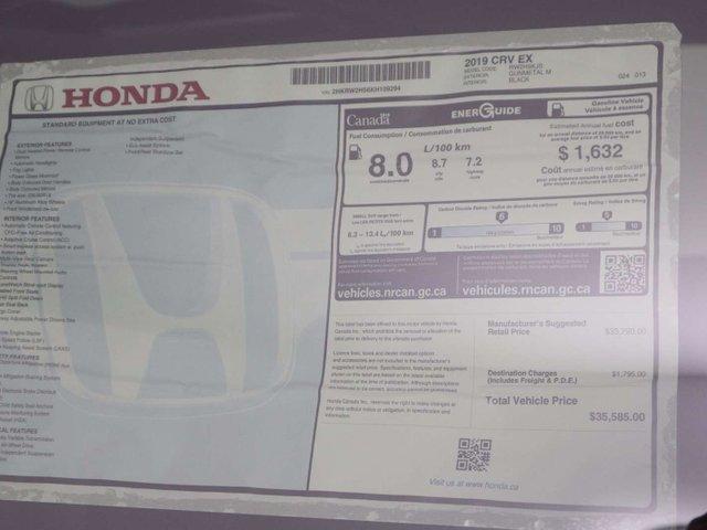 2019 Honda CR-V EX (Stk: 219201) in Huntsville - Image 11 of 35