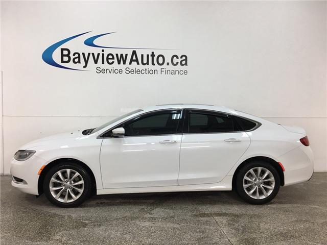 2015 Chrysler 200 C (Stk: 34457R) in Belleville - Image 1 of 25