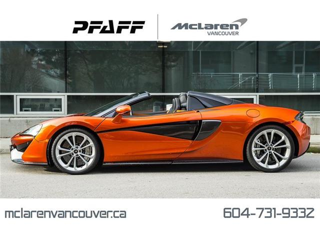 2019 McLaren 570S Spider (Stk: MV0245) in Vancouver - Image 1 of 16