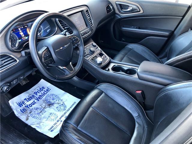 2015 Chrysler 200 C (Stk: 511145) in Toronto - Image 9 of 14