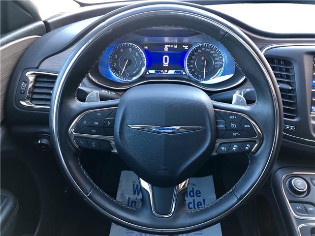2015 Chrysler 200 C (Stk: 511145) in Toronto - Image 12 of 14