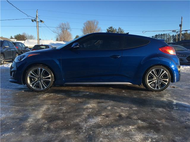 2016 Hyundai Veloster Turbo (Stk: 19228A) in Pembroke - Image 2 of 19