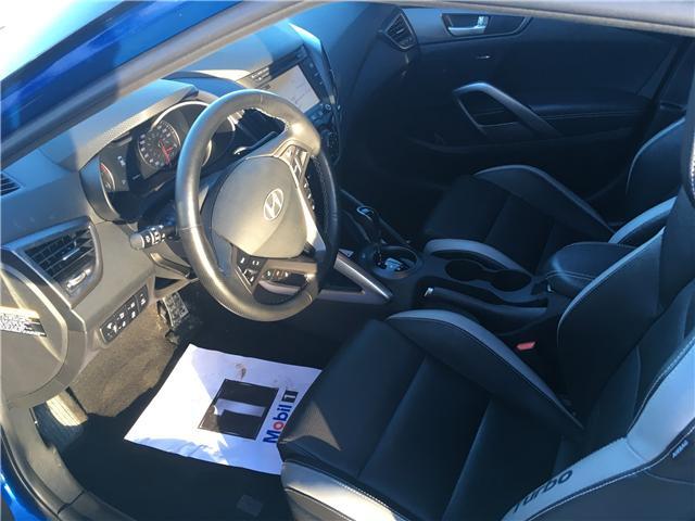 2016 Hyundai Veloster Turbo (Stk: 19228A) in Pembroke - Image 10 of 19