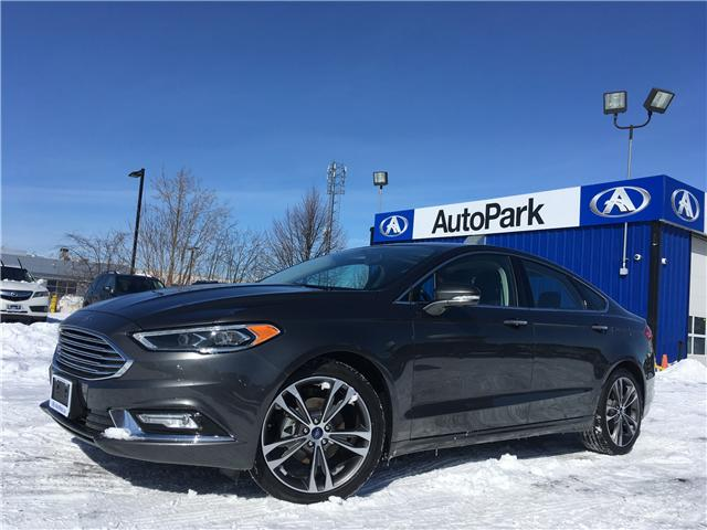 2018 Ford Fusion Titanium (Stk: 18-36447) in Georgetown - Image 1 of 25