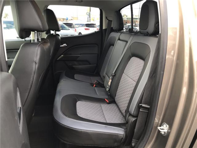 2017 Chevrolet Colorado Z71 (Stk: 19093) in Sudbury - Image 11 of 18