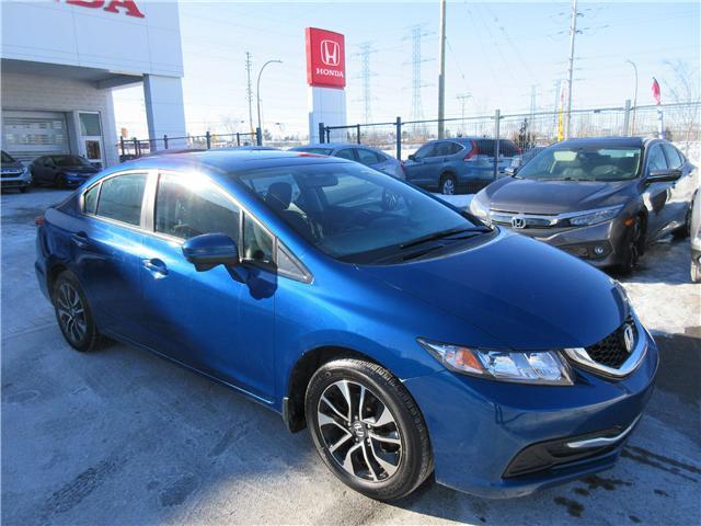 2015 Honda Civic EX (Stk: SS3372) in Ottawa - Image 2 of 9
