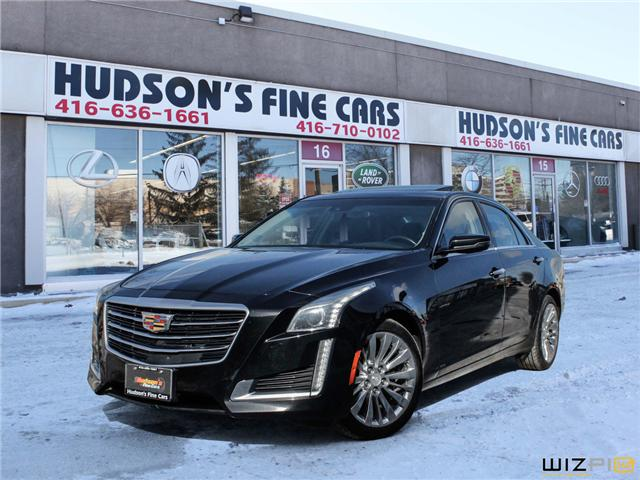 2015 Cadillac CTS 2.0L Turbo Luxury (Stk: 18510) in Toronto - Image 1 of 30