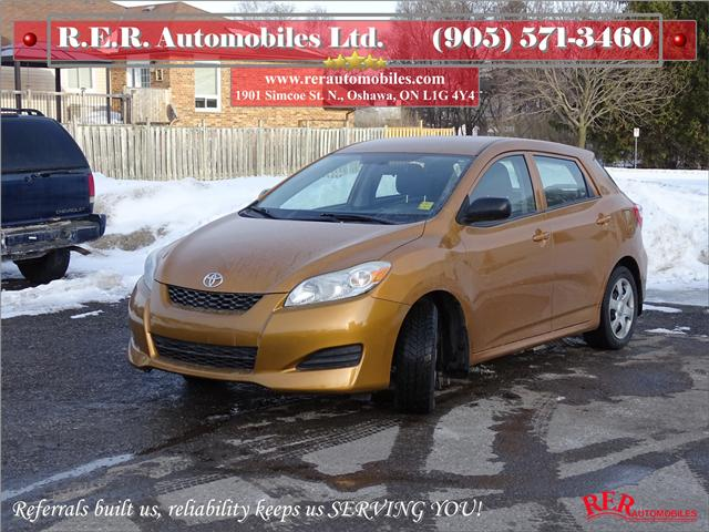 2009 Toyota Matrix Base (Stk: ) in Oshawa - Image 1 of 11