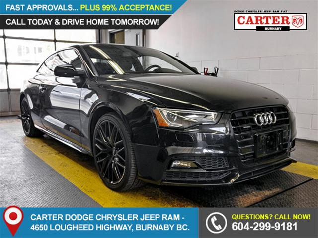 2016 Audi A5 2.0T Progressiv plus (Stk: 9-6053-0) in Burnaby - Image 1 of 24