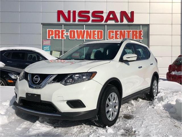 2016 Nissan Rogue S-FWD (Stk: U3019) in Scarborough - Image 1 of 18