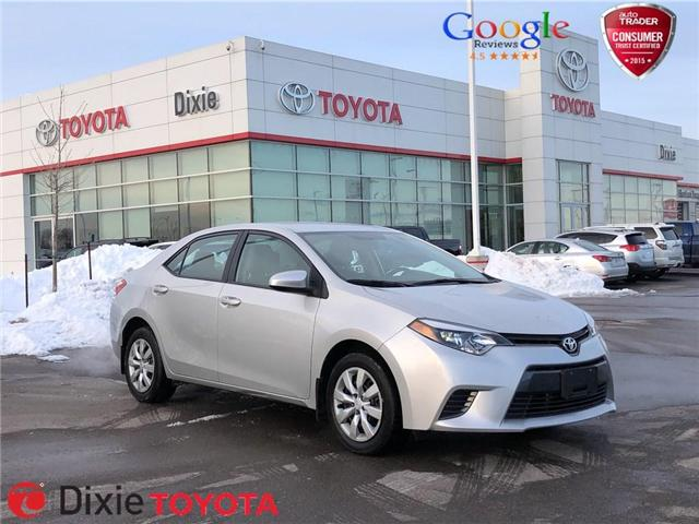 2016 Toyota Corolla  (Stk: D190895A) in Mississauga - Image 1 of 18