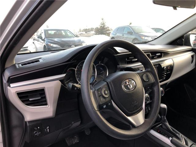 2016 Toyota Corolla  (Stk: D190895A) in Mississauga - Image 11 of 18