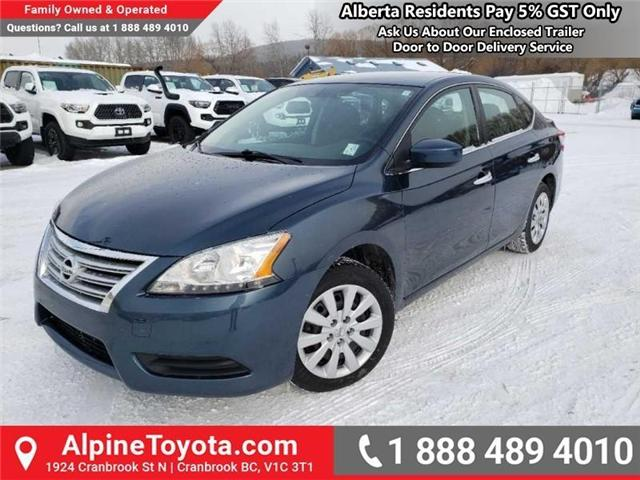 2014 Nissan Sentra 1.8 S (Stk: W796844A) in Cranbrook - Image 1 of 14