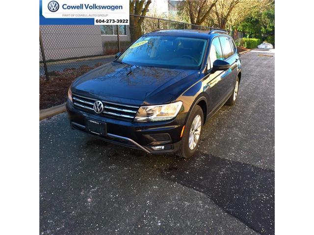 2018 Volkswagen Tiguan Trendline (Stk: VWMU0078) in Richmond - Image 1 of 18