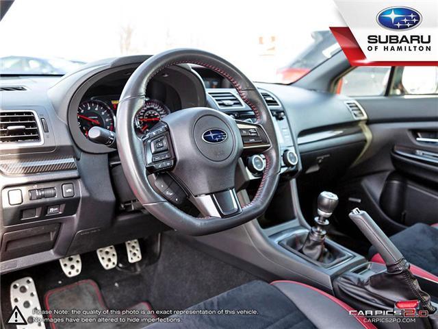2018 Subaru WRX Sport-tech (Stk: S7193A) in Hamilton - Image 6 of 28