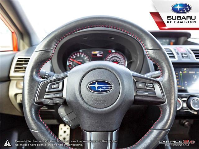 2018 Subaru WRX Sport-tech (Stk: S7193A) in Hamilton - Image 7 of 28