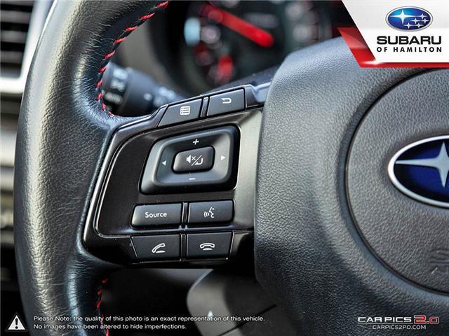 2018 Subaru WRX Sport-tech (Stk: S7193A) in Hamilton - Image 11 of 28