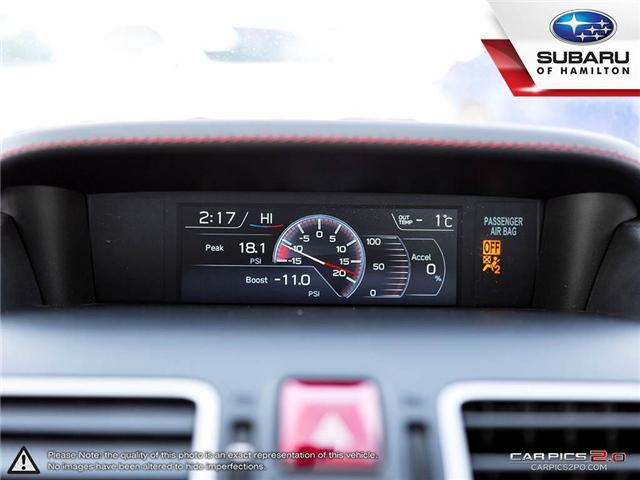 2018 Subaru WRX Sport-tech (Stk: S7193A) in Hamilton - Image 17 of 28