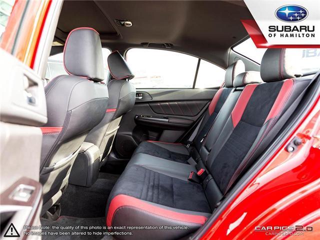 2018 Subaru WRX Sport-tech (Stk: S7193A) in Hamilton - Image 20 of 28